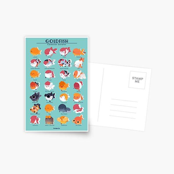 Goldfish Breed Poster Postcard