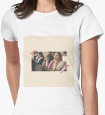 Damenvogel Tailliertes T-Shirt