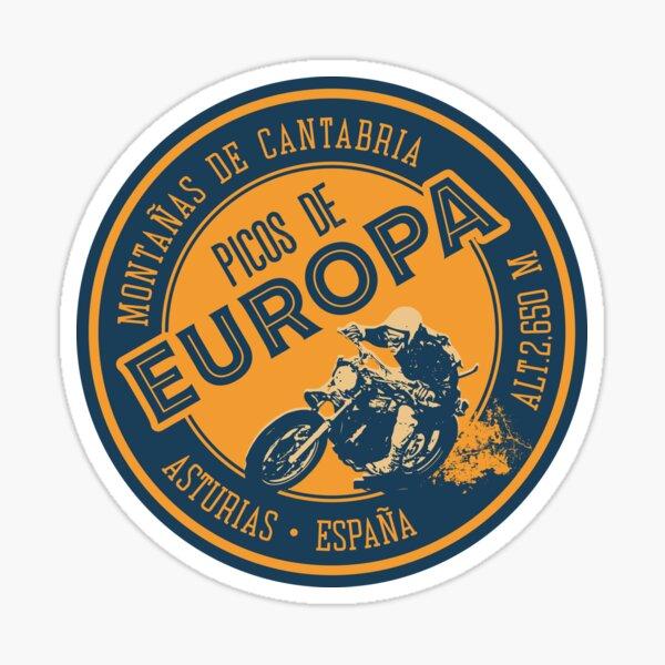 Picos de Europa Motorcycle T-Shirt + Sticker  Sticker