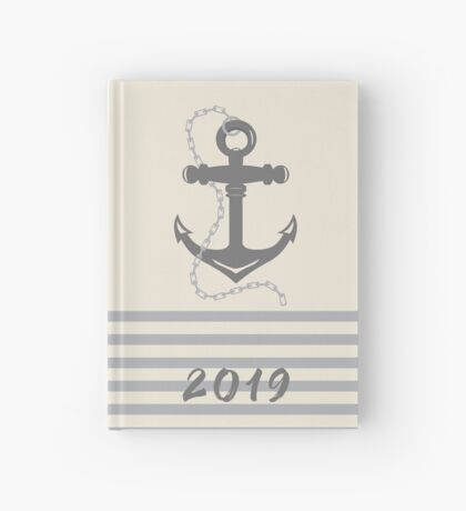 AFE Anchor and Chain  Hardcover Journal