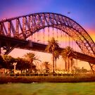 Sydney sunset by missmoneypenny