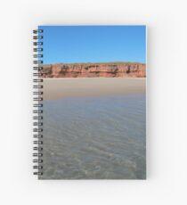 Tranquil Beach Spiral Notebook