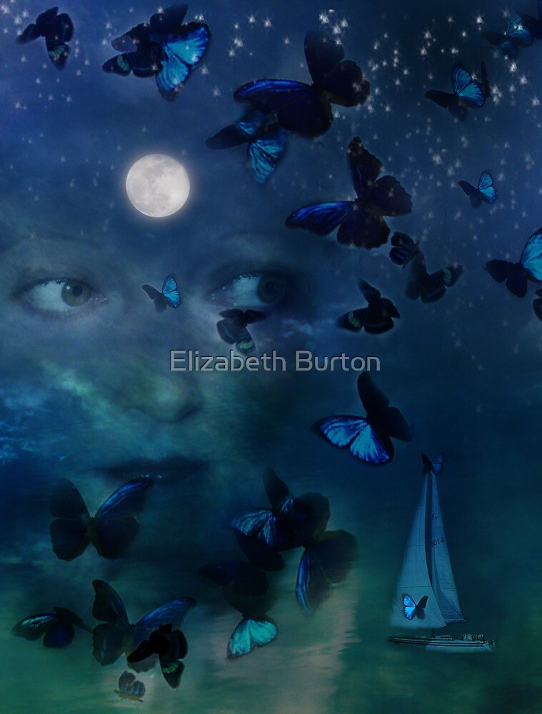 I Travel Far & Wide When I Dream by Elizabeth Burton