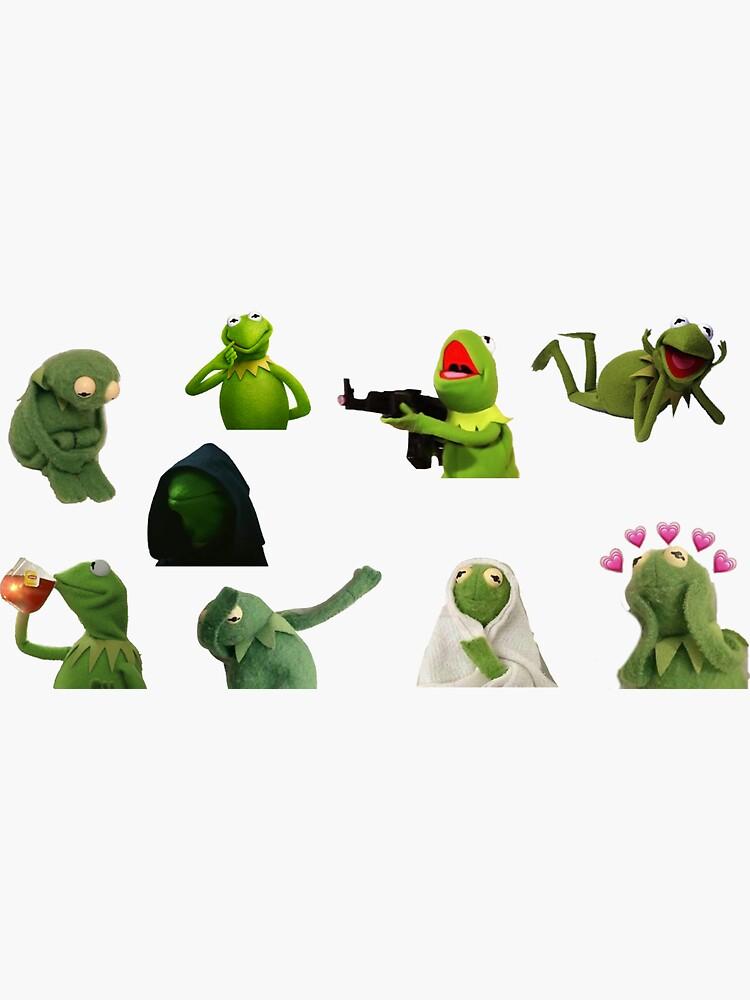 Kermit Meme Aufkleber Set von store7