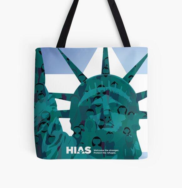 HIAS Statue of Liberty Tote All Over Print Tote Bag
