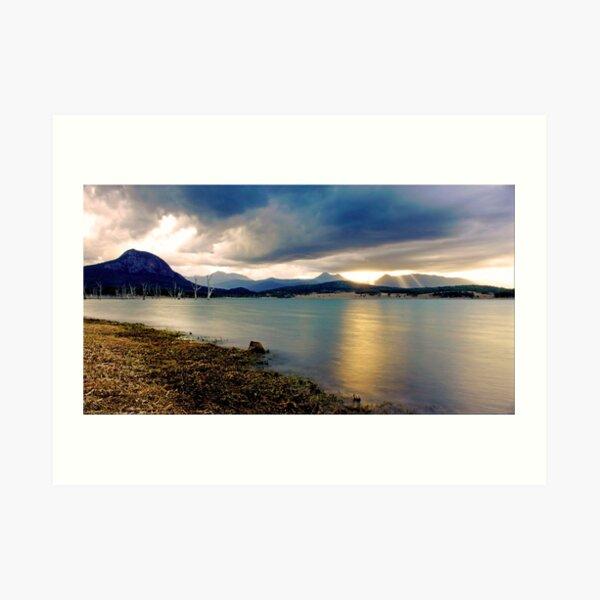 Lake Moogerah Art Print