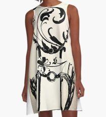 Salon de Paris A-Line Dress