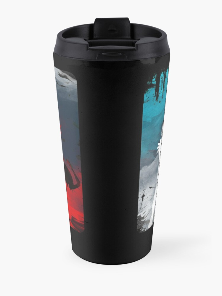 Alternate view of What's your power? Travel Mug