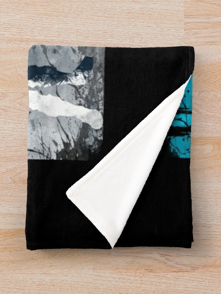 Alternate view of What's your power? Throw Blanket