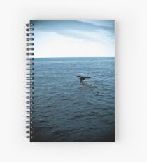 Whale Of A Tail Spiral Notebook