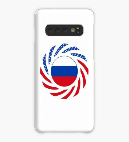 Russian American Multinational Patriot Flag Series Case/Skin for Samsung Galaxy