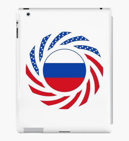 Russian American Multinational Patriot Flag Series iPad Case/Skin