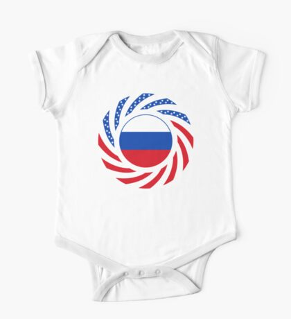 Russian American Multinational Patriot Flag Series Kids Clothes