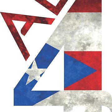 Puerto Rico Tshirt All 4 PR by BorbaBacco