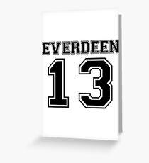 Everdeen T-2 Greeting Card