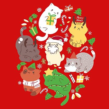 Christmas Cats  by TaylorRoss1