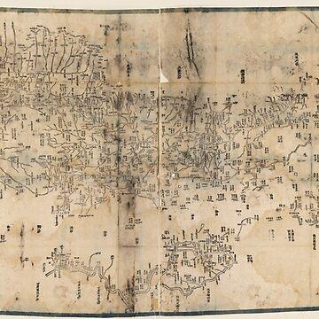 Nei wai Mengguo tu (Inner Mongolia, China 1860) by allhistory