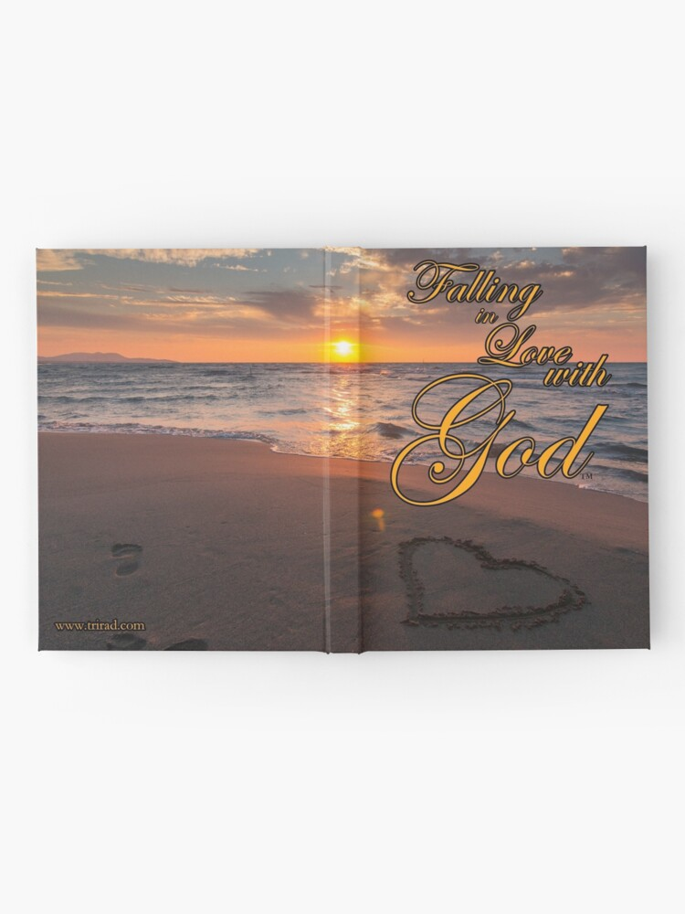 Alternate view of Falling in Love with God Journal Hardcover Journal