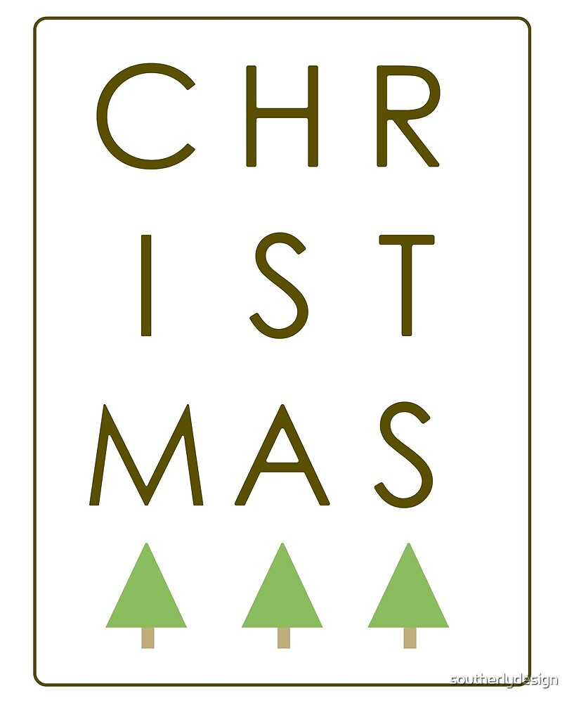 Christmas Letters by southerlydesign