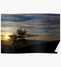 Death Vally Sunrise over Panamint Springs Poster