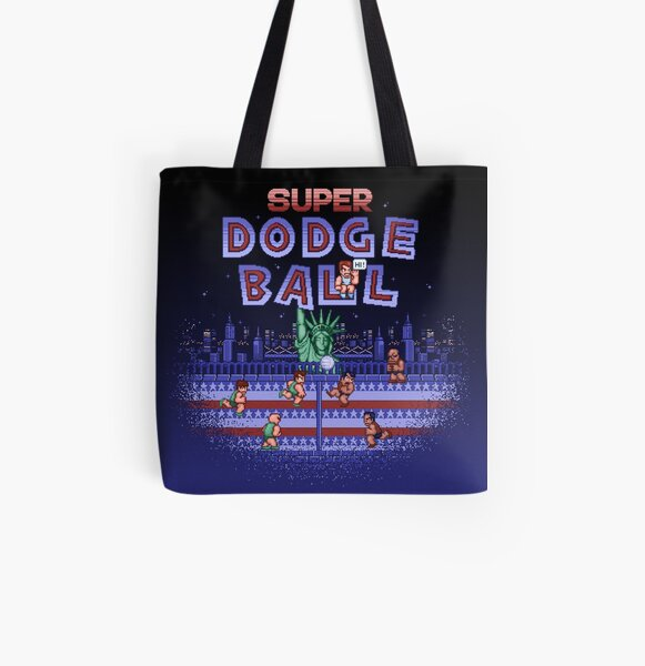 Super Ball Dodge All Over Print Tote Bag
