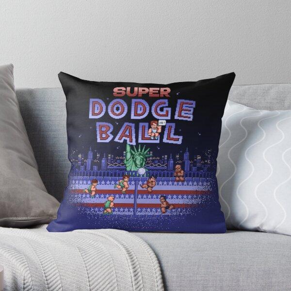 Super Ball Dodge Throw Pillow