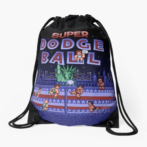 Super Ball Dodge Drawstring Bag
