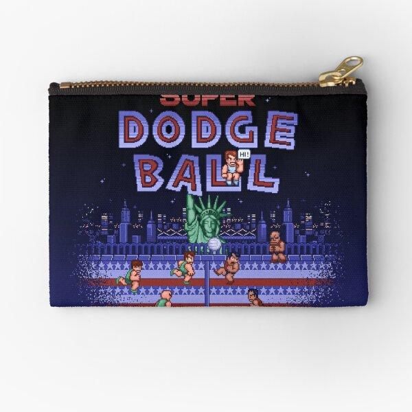 Super Ball Dodge Zipper Pouch