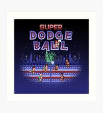 Super Ball Dodge Art Print