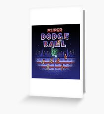 Super Ball Dodge Greeting Card