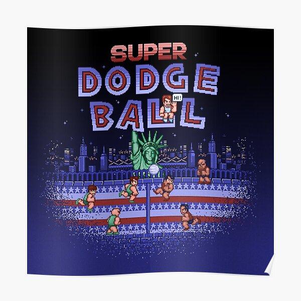 Super Ball Dodge Poster