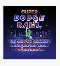 Super Ball Dodge Photographic Print