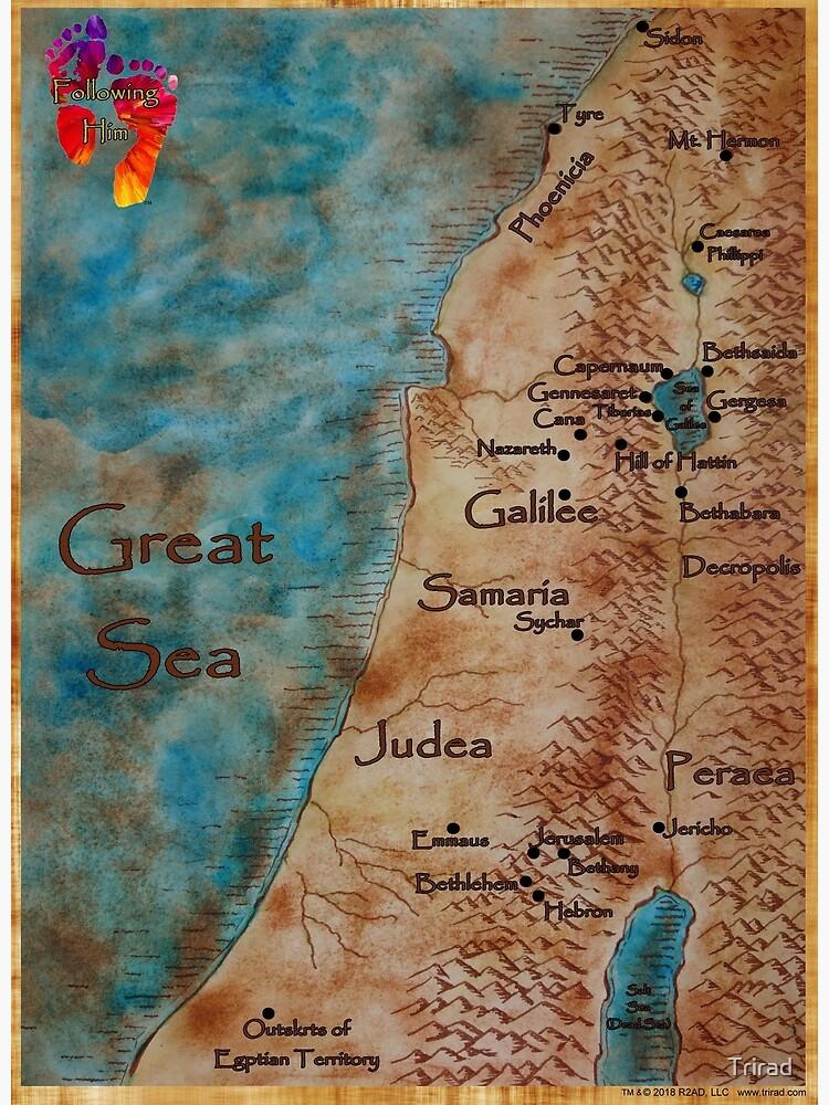 Following Him Map by Trirad