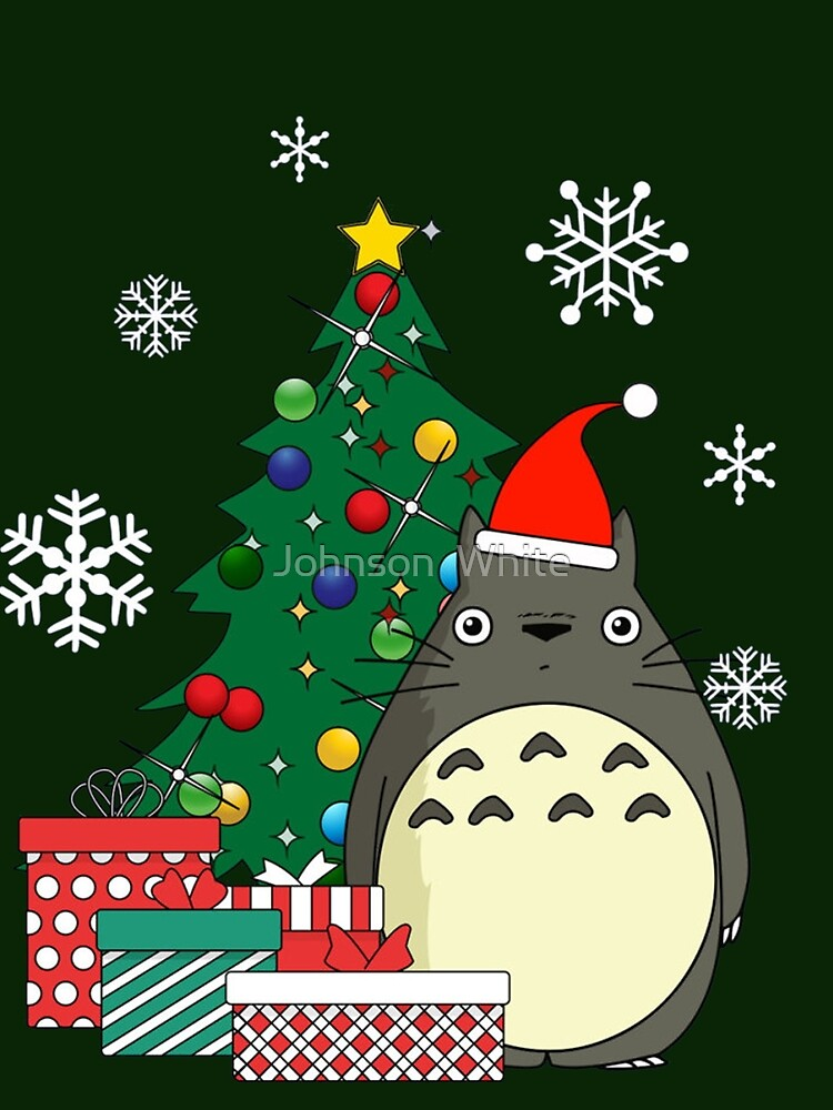 Totoro Moonlight Christmas by seketo