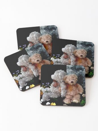 Teddy Bear Buddies Coasters