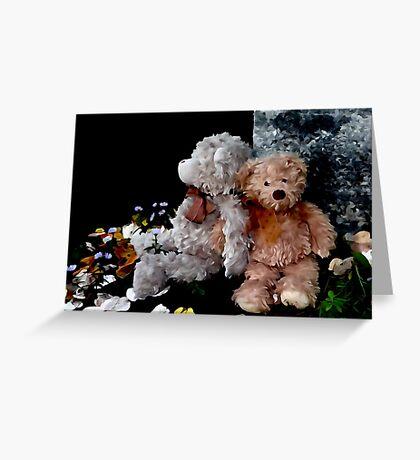 Teddy Bear Buddies Greeting Card