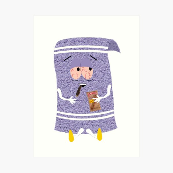 Baked towel Art Print