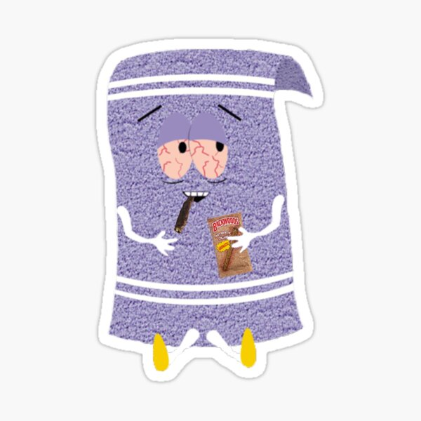 Serviette cuite Sticker
