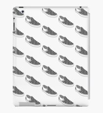 checkered slip on shoe iPad Case/Skin