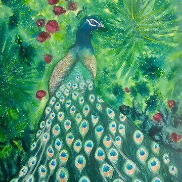 Peacock by chriskfouryart