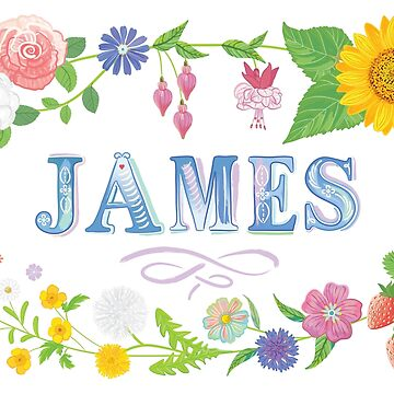 Summer Name - JAMES by Bessibury