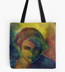 Portrait coloré 1 Tote Bag