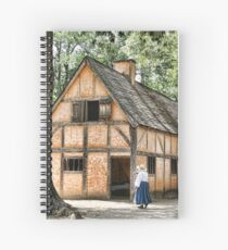 Jamestown Settlement Spiral Notebook