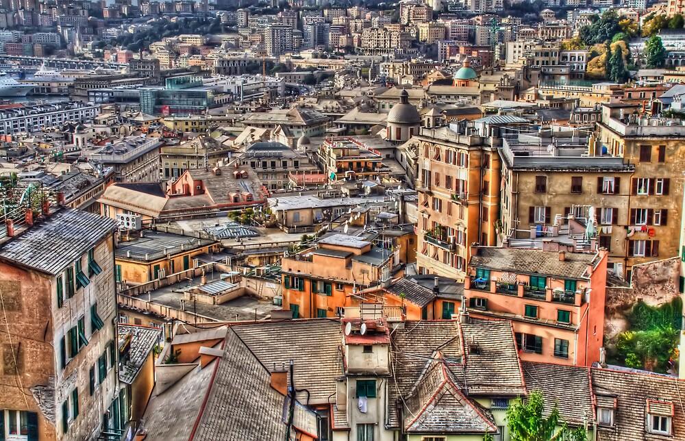 Genoa panoramic by oreundici