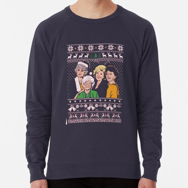 Golden Girls Christmas Lightweight Sweatshirt