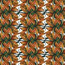 Earth, Wind and Fire Pattern by TheJoanofArt