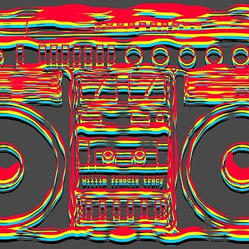 Boombox Art by Bill Tracy by btphoto