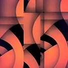 pastel curves abstract by CurvilinearArt