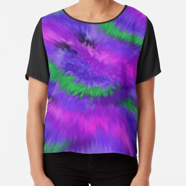 Purple Waves, Purple Waves Chiffon Top