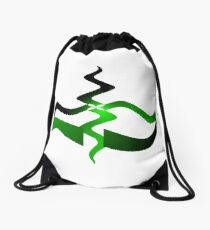 Environmental graphic symbol Drawstring Bag